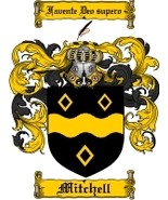 Mitchell Family Crest / Coat of Arms JPG or PDF Image Download - $6.99