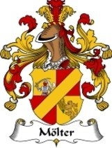 Molter Family Crest / Coat of Arms JPG or PDF I... - $6.99