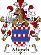 Munch Family Crest / Coat of Arms JPG or PDF Image Download - $6.99