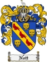 Nott Family Crest / Coat of Arms JPG or PDF Image Download - $6.99