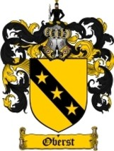 Oberst Family Crest / Coat of Arms JPG or PDF Image Download - $6.99