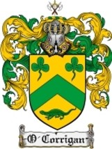 O'Corrigan Family Crest / Coat of Arms JPG or PDF Image Download - $6.99