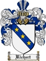 Richert Family Crest / Coat of Arms JPG or PDF Image Download - $6.99