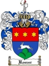 Roever Family Crest / Coat of Arms JPG or PDF Image Download - $6.99