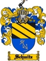 Schmitz Family Crest / Coat of Arms JPG or PDF Image Download - $6.99