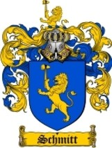 Schmitt Family Crest / Coat of Arms JPG or PDF Image Download - $6.99