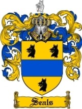 Seals Family Crest / Coat of Arms JPG or PDF Image Download - $6.99