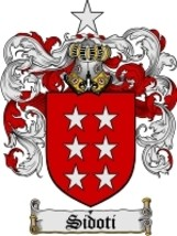 Sidoti Family Crest / Coat of Arms JPG or PDF Image Download - $6.99