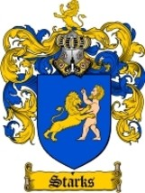 Starks Family Crest / Coat of Arms JPG or PDF Image Download - $6.99