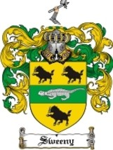 Sweeny Family Crest / Coat of Arms JPG or PDF Image Download - $6.99