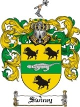 Swiney Family Crest / Coat of Arms JPG or PDF Image Download - $6.99