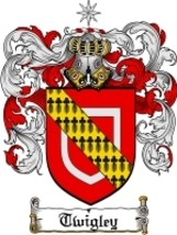 Twigley Family Crest / Coat of Arms JPG or PDF Image Download - $6.99
