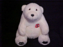 "13"" Coca Cola Polar Plush Bear With Coke Bottle Symbol On Chest From 1994 - $23.36"