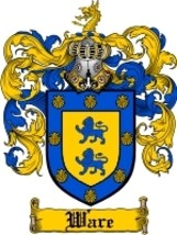 Ware Family Crest / Coat of Arms JPG or PDF Image Download - $6.99