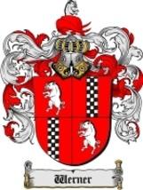 Werner Family Crest / Coat of Arms JPG or PDF Image Download - $6.99