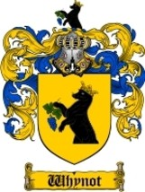 Whynot Family Crest / Coat of Arms JPG or PDF Image Download - $6.99