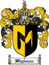 Whyteman Family Crest / Coat of Arms JPG or PDF Image Download - $6.99