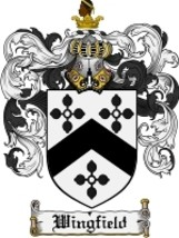 Wingfield Family Crest / Coat of Arms JPG or PDF Image Download - $6.99