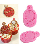 Watch Clock Silicone Fondant Mold Cake Decorating Chocolate Sugarcraft M... - $5.90