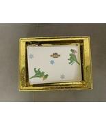 NWT Coach Holiday Rexy Print Mini ID Skinny Wallet w/ gift box - $99.99