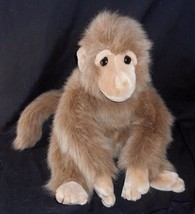 "18"" Big Vintage Ty Classic 1993 Josh Brown Furry Monkey Stuffed Animal Plush Toy - $42.08"