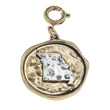 Two Tone State Charm - Missouri [Jewelry]