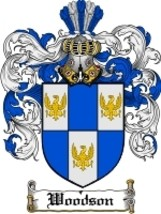 Woodson Family Crest / Coat of Arms JPG or PDF Image Download - $6.99