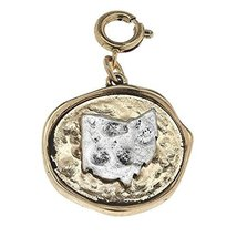 Two Tone State Charm - Ohio [Jewelry]