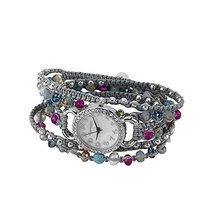 Ainsley Wrap Watch Multi Color Gray [Jewelry]