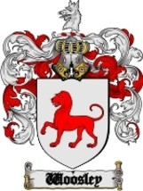 Woosley Family Crest / Coat of Arms JPG or PDF Image Download - $6.99
