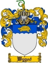 Wygod Family Crest / Coat of Arms JPG or PDF Image Download - $6.99