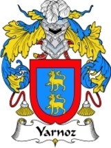 Yarnoz Family Crest / Coat of Arms JPG or PDF Image Download - $6.99