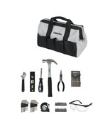 Homeowners Tool Set Bag Portable Home Project Quick Jobs Repair Pliers C... - $29.47