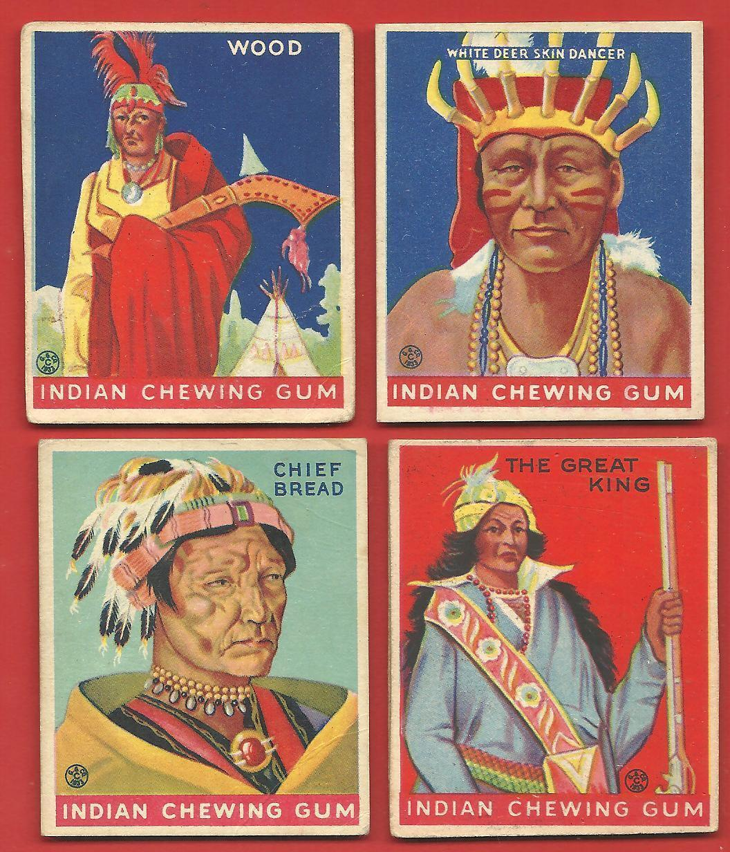 1931 GOUDEY  CHEWING  GUM   7 CARD LOT TOTAL  160 /166 /169 /193 / 206/ 207 /210