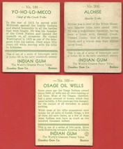 1931 GOUDEY  CHEWING  GUM   7 CARD LOT TOTAL  160 /166 /169 /193 / 206/ 207 /210 image 4