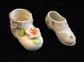 2 Different Vintage Porcelain Shoes Japan ISCO - $34.64