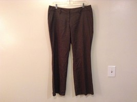 Brown Flat Front Apt 9 Petite Dress Pants Size 12 Petite Button Zipper C... - $39.59