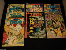 Collection of The New Titans Comic Books image 1