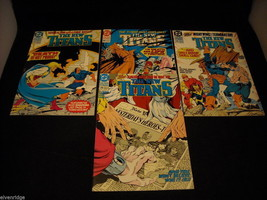 Collection of The New Titans Comic Books image 3