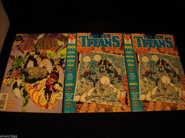 Collection of The New Titans Comic Books image 2