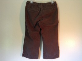 Favorite Chino Cropped Brown Denim Capris Size 4 Zipper and Clasp Closure image 4