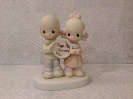 God Blessed Our Years Together Happy Anniversary Enesco Figurine 1983 Vi... - $39.99