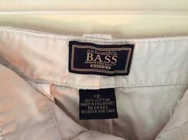 Khaki G H Bass and Company BASS Size 12 Shorts 100 Percent Cotton Pockets image 2