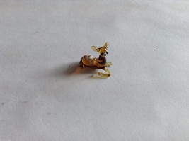 Micro Miniature small hand blown glass made USA cute deer lying down