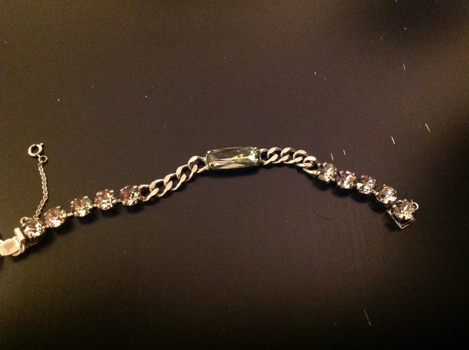 New Sorrelli Chain Purple Lotus Bracelet 7.5 inches Long