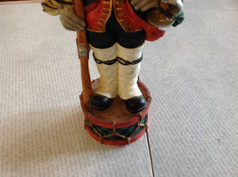 Resin Soldier Figurine Nutcracker Trifold Hat 10 and a Half Inches Tall image 3