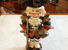 Resin Soldier Figurine Nutcracker Trifold Hat 10 and a Half Inches Tall image 2