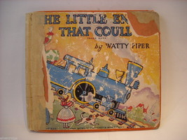 The Little Engine that Could 1954 by Watty Piper Silver Anniversary Edition