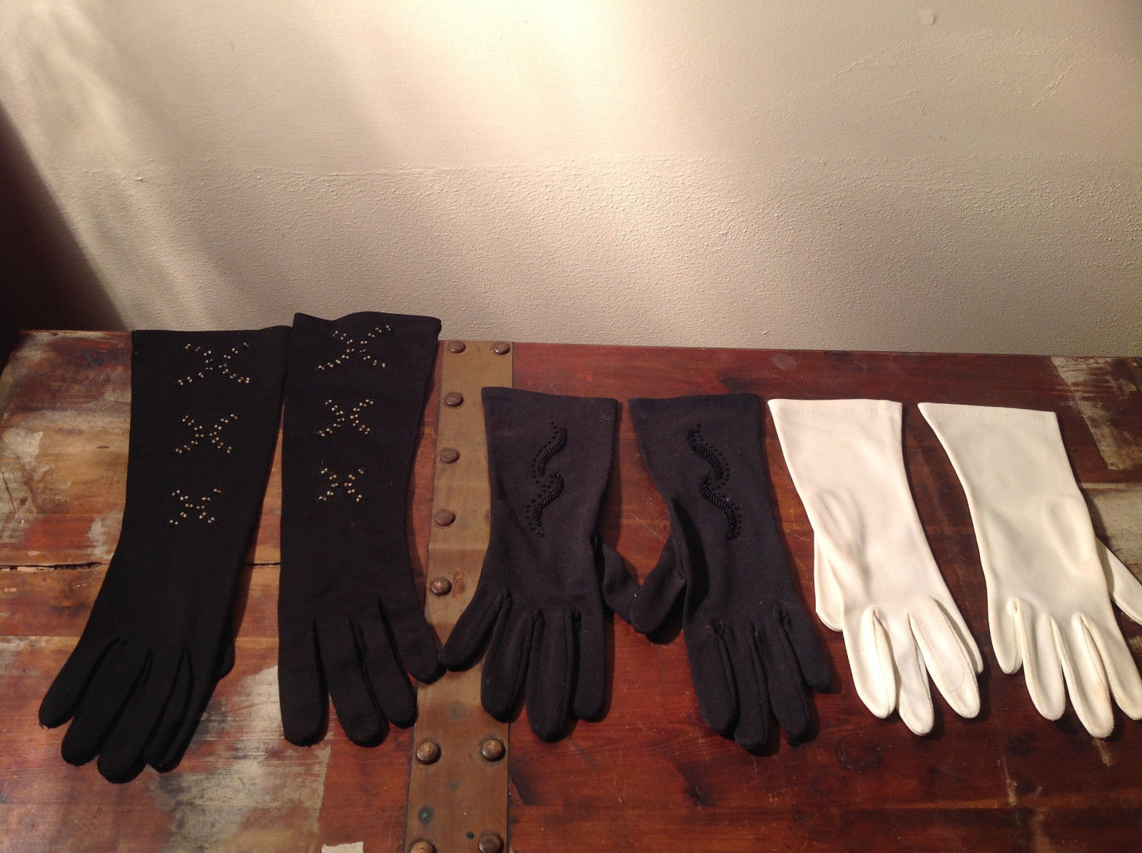 The Aspiring Aristocrat's Three Pair of Gloves Great For Any Occasion vintage