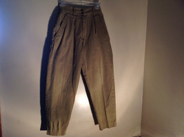 Timberland Weather Wear Size 6 Beige Pants Zipper Two Button in Front Closure